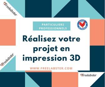Particuliers / Professionnels,réalisez votre projet en impression 3D #Impression3d #3D #3Dprinting #Freelabster #collaborative #MadeInFrance<br>http://pic.twitter.com/wqn6bDSAQm