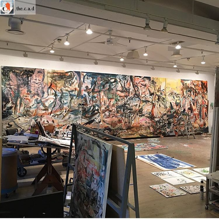 Inspiring studio shot from Cecily Brown. #TheCAD #cecilybrown #estudio #arte #artista #womenpower<br>http://pic.twitter.com/PxfxATbwVg