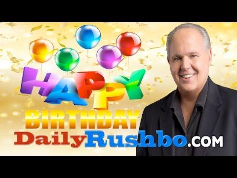 HAPPY BIRTHDAY RUSH LIMBAUGH WATCH at: