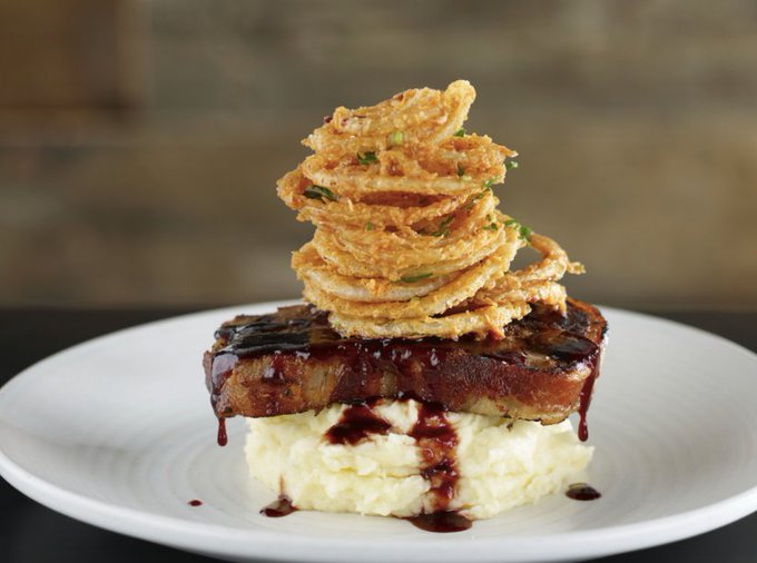 Bacon Wrapped Meatloaf by Wolfgang Puck