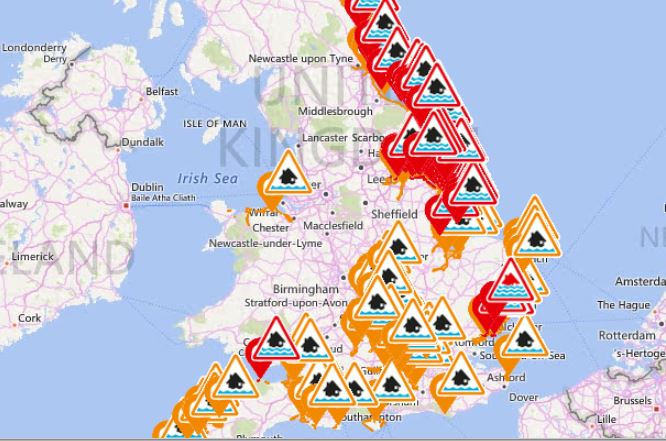 Map Of England Please.Environment Agency On Twitter Please Check Your Flood Risk Our