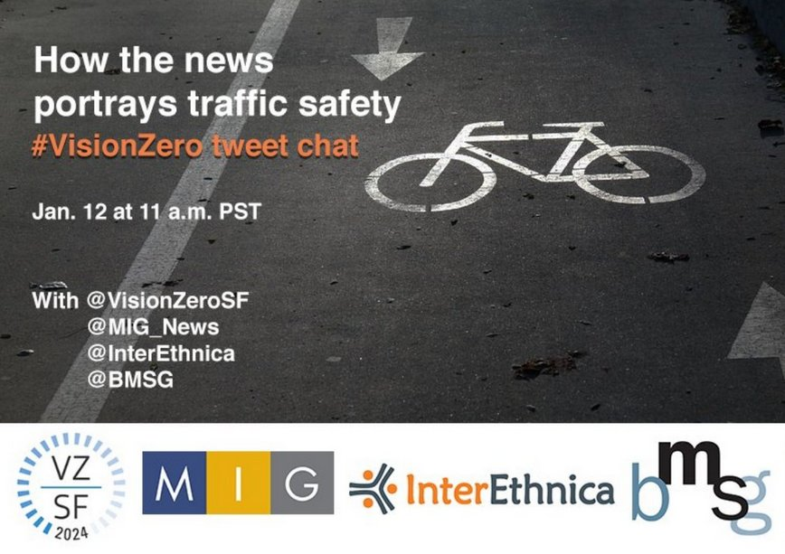 News frames traffic as a battle – does that help or hurt #VisionZero? Learn more in today's tweet chat @ 11am PST https://t.co/JztykYxIju