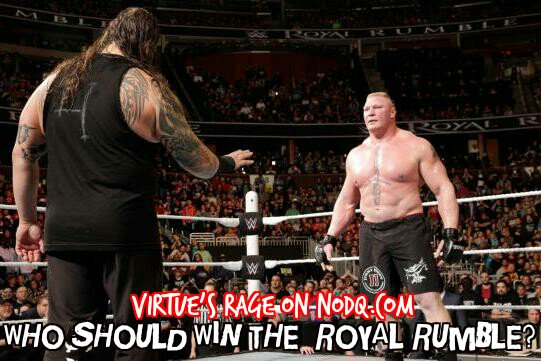 Who Should Win the Royal Rumble?