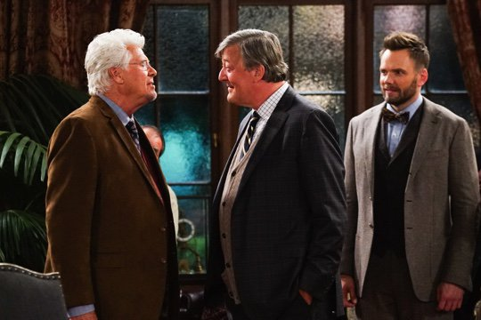 With legend @BarryBostwick_ (Brad in the Rocky Horror movie amongst much else) in tonight's ep of @GreatIndoorsCBS https://t.co/PoMK6BzSCI