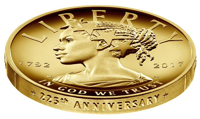 US Mint and Treasury announce a black woman will be Lady Liberty on new currency