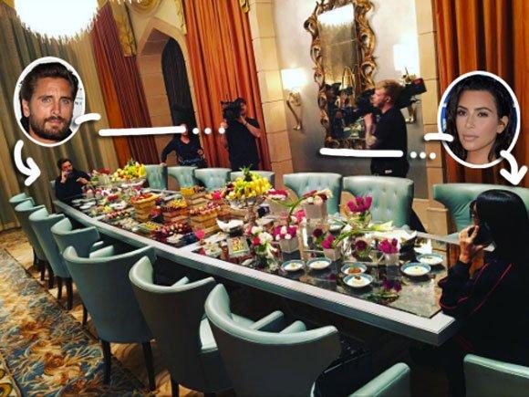 How Was In Scott Disick S Room In Dubai