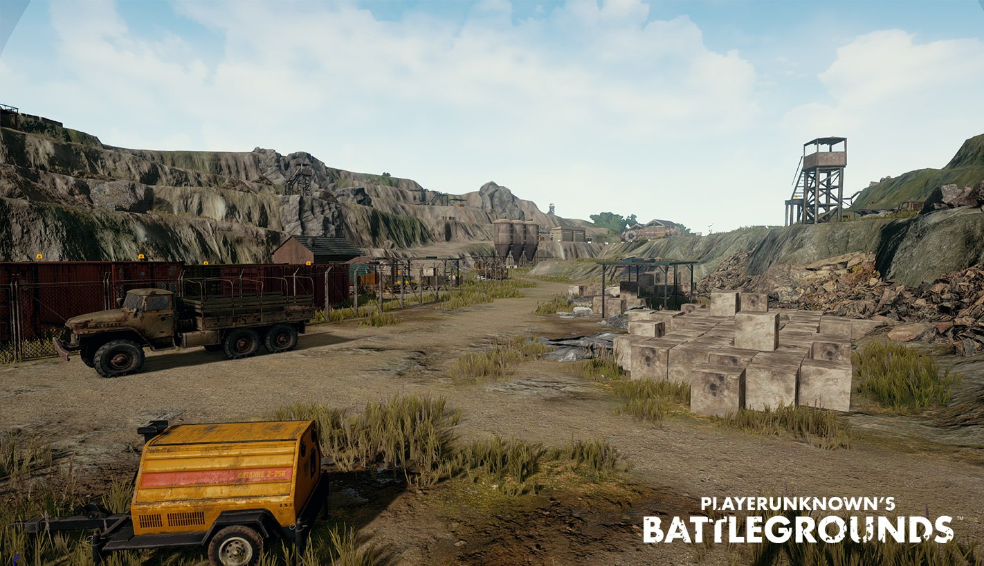 """Pubg Wallpaper Landscape: PUBG On Twitter: """"Some WIP Environment Shots Of The Quarry"""