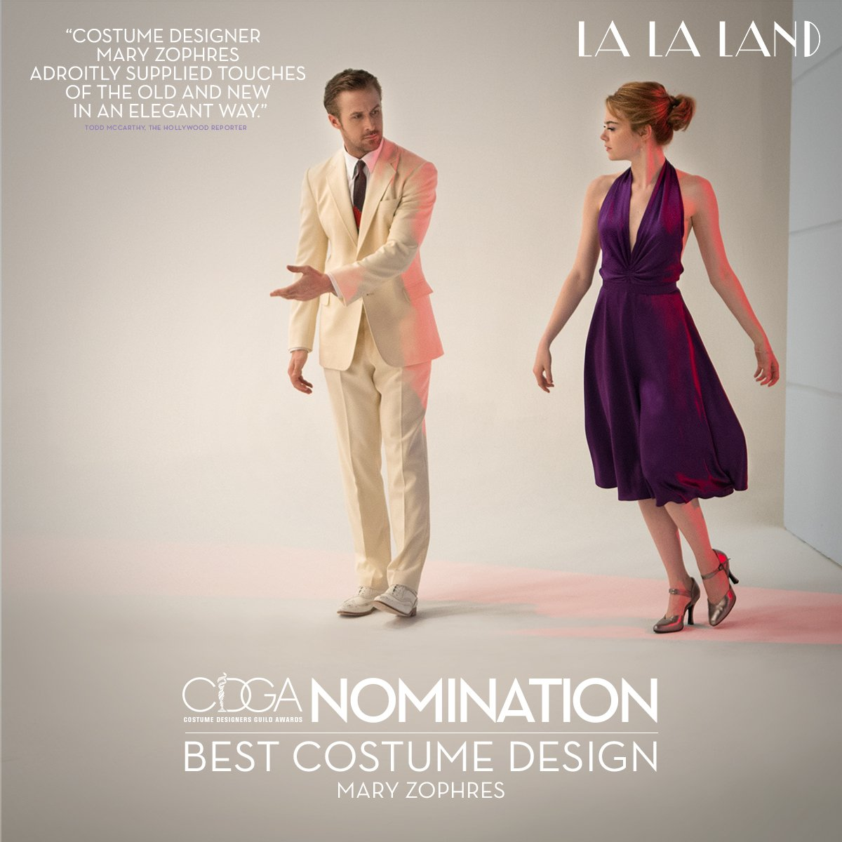 La La Land On Twitter Congratulations To Lalaland S Mary Zophres On Her Costume Designers Guild Awards Nomination For Excellence In Contemporary Film Https T Co Zlyn4vvvrl