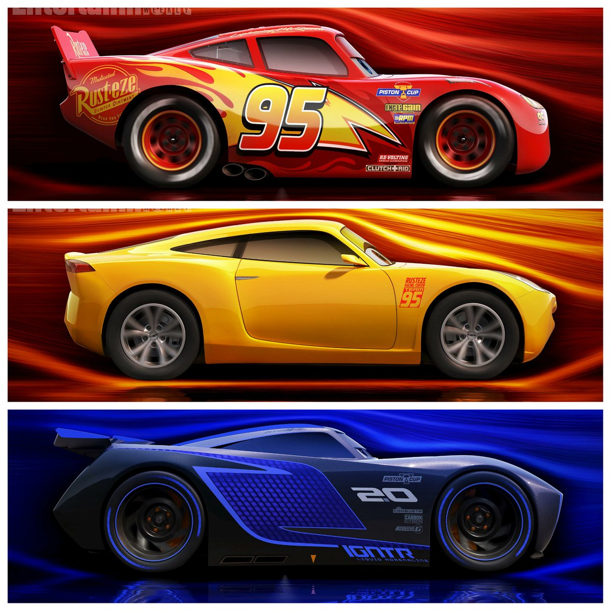 sasaki time on twitter lightning mcqueen cruz ramirez. Black Bedroom Furniture Sets. Home Design Ideas