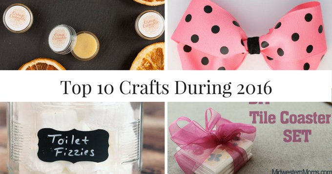 Top Crafts From Midwestern Moms During 2016