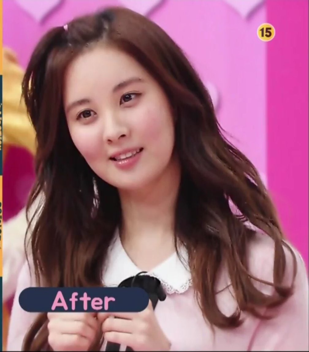 seohyun x apple hair, her looks didn't even change