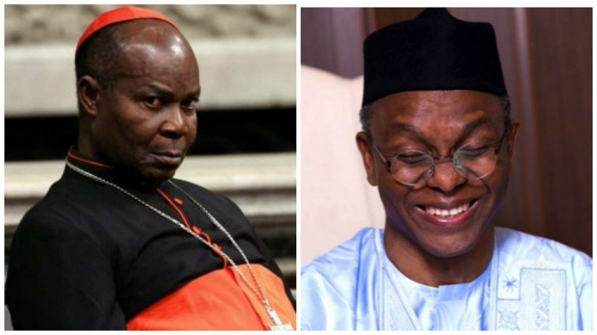 El-Rufai Pampering Southern Kaduna Killers Instead of Arresting Them – Cardinal Okogie https://t.co/nY2RZV0Myq https://t.co/4ReVzzRzCR