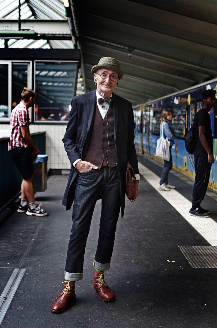104歳のおじいちゃんオシャレ おじいちゃんは冬服がいいよね https://t.co/wUXn7uJQ7C