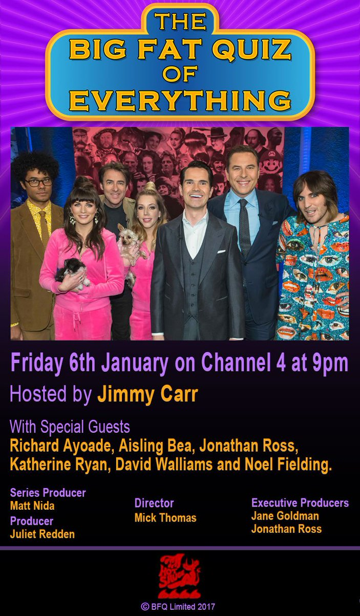 big fat quiz of the year 2018 channel 4