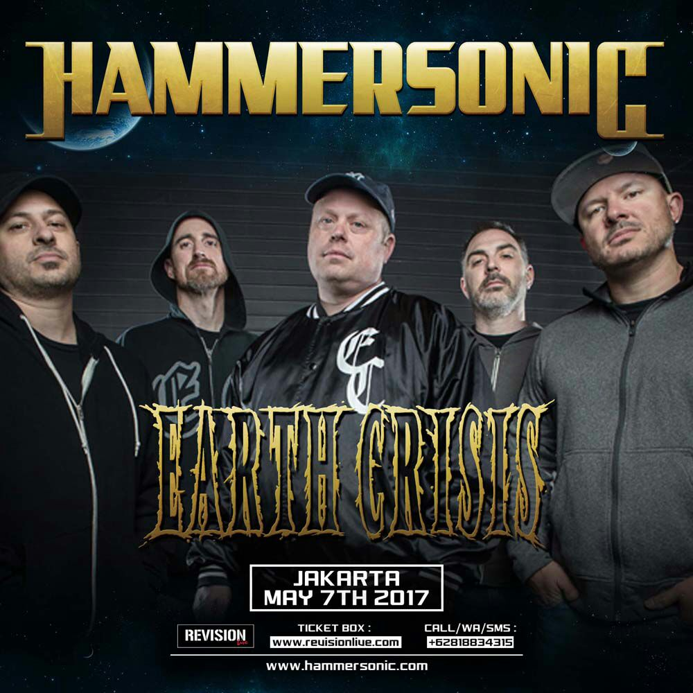 We are proud to be a part of this years Hammersonic Festival in Jakarta, Indonesia on May 7th! https://t.co/atqvER7AMK