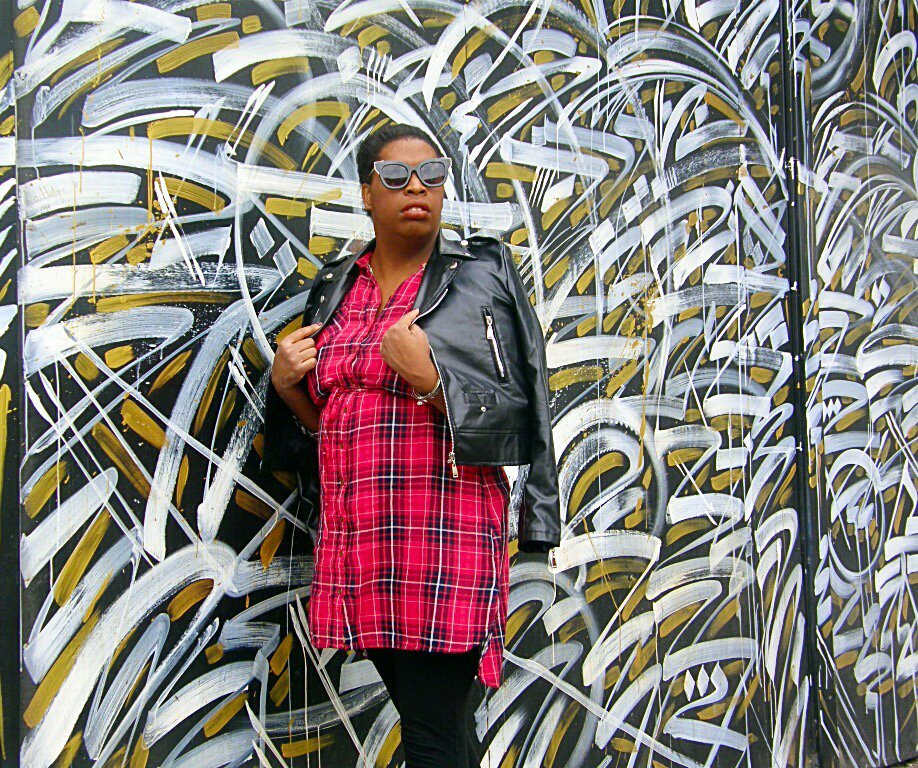 Leather &amp; Plaid #style #fashionblogger #fashion #styleblogger #seattlefashion #seattle #la #winterfashion #edgy #leather #plaid #happynew... <br>http://pic.twitter.com/jh09CmPSDK