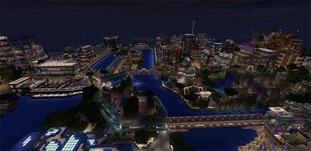 карту мегаполиса для майнкрафт 0.14.0 #9