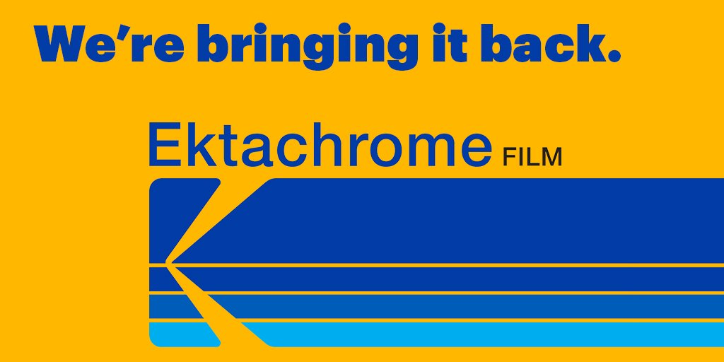 Because the world needs more film.  #EktachromeIsBack https://t.co/LJt9ZeGRs6  #CES2017 #KodakCES2017 https://t.co/I7zph3MtUI