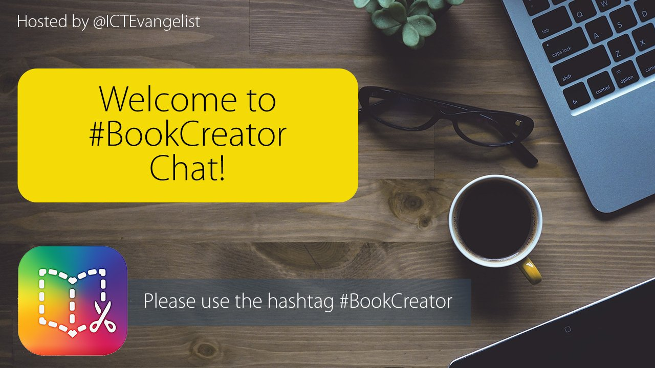 Thumbnail for #BookCreator chat on sharing books