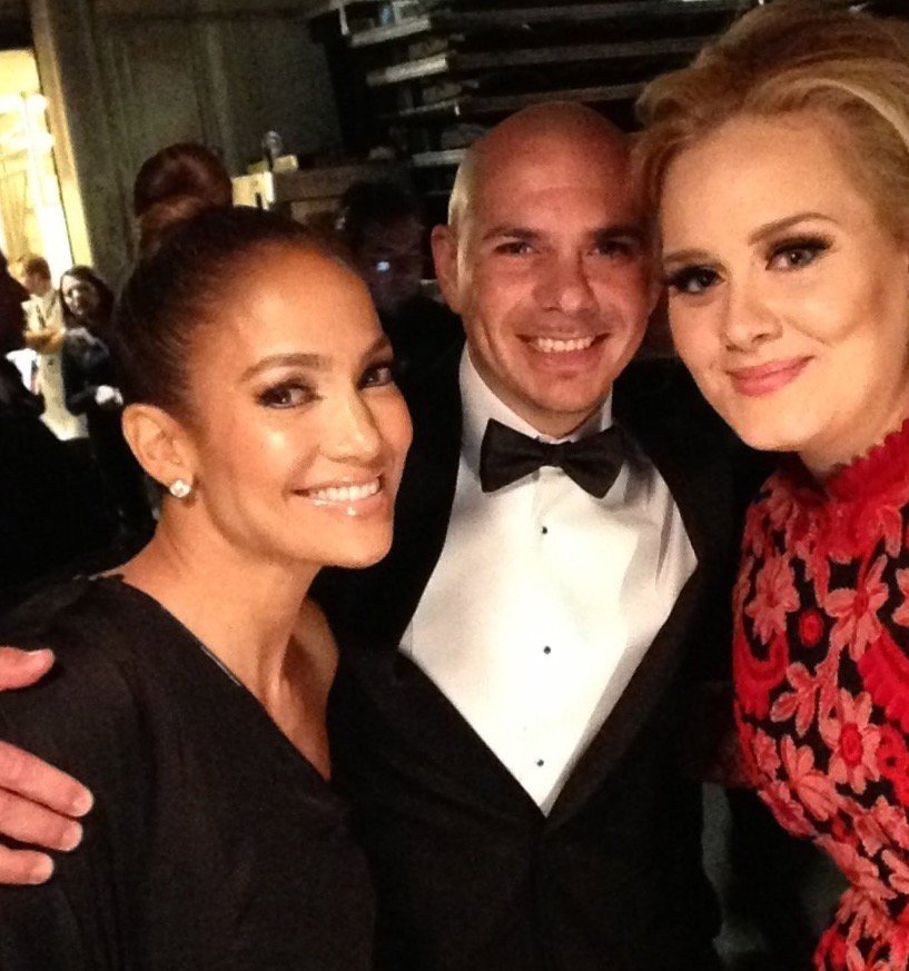 #TBT @JLo  @Adele  what an honor @RecordingAcad  #throwbackthursday  #...