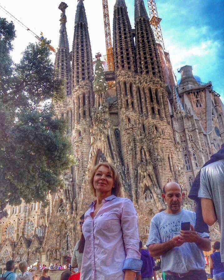Барселона в январе фото туристов