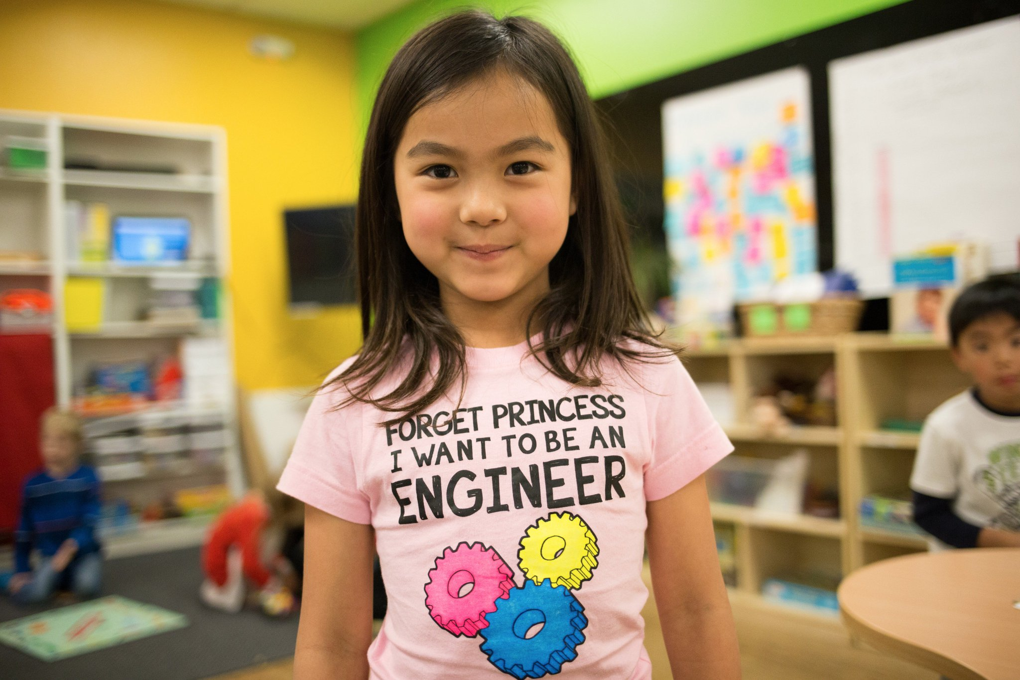 Khan lab school on twitter forget princess i want to for I need an engineer