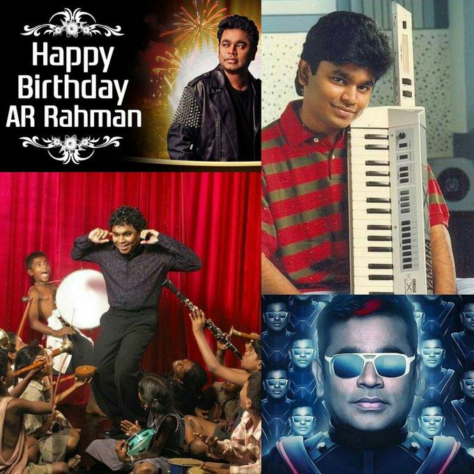 Happy Birthday  Isai puyal  A.R.RAHMAN sir      God bless you sir