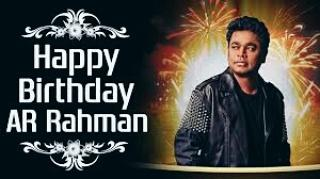 Wishes A Very Happy Birthday to A. R Rahman