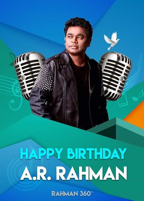 HAPPY BIRTHDAY LEGEND A.R.RAHMAN