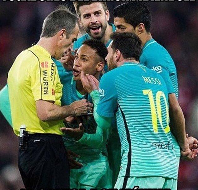 Coppa del Re: Barcellona perde 2-1 a Bilbao che finisce in 9, polemiche roventi sull'arbitro