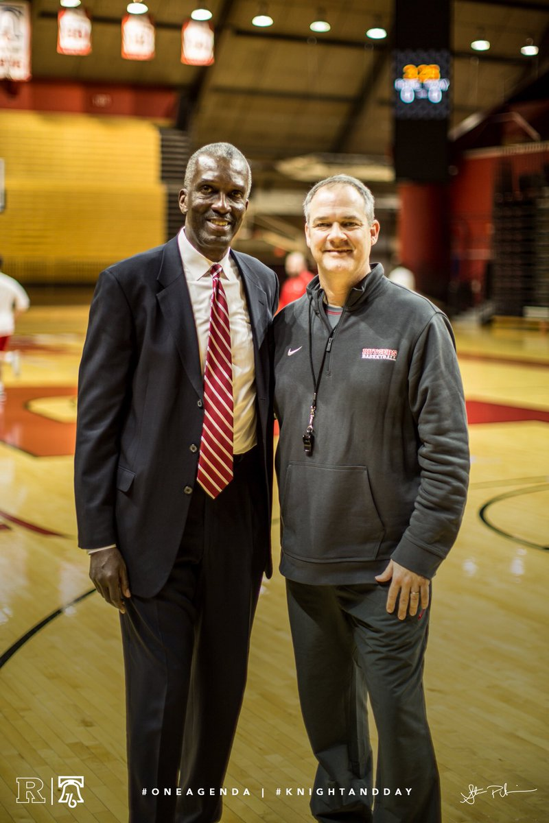 Awesome Having Abdel Anderson Of Our 76 Final 4 Squad At Practice Today Love RutgersMBB Alumni Come Back Home Knightanddaypictwitter