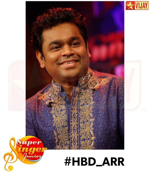 .. Happy birthday A.R. Rahman sir :)  We love you