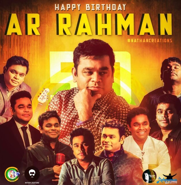 Wishing a very Happy Birthday to the Man who composes Magic - The Name is A.R. Rahman