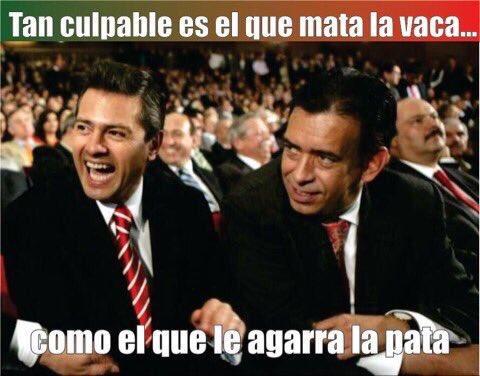 #QueHubieranHechoUstedes. Recuperar todo lo robado por estos ladrones y amigos de @EPN https://t.co/eyN6GhsHy0