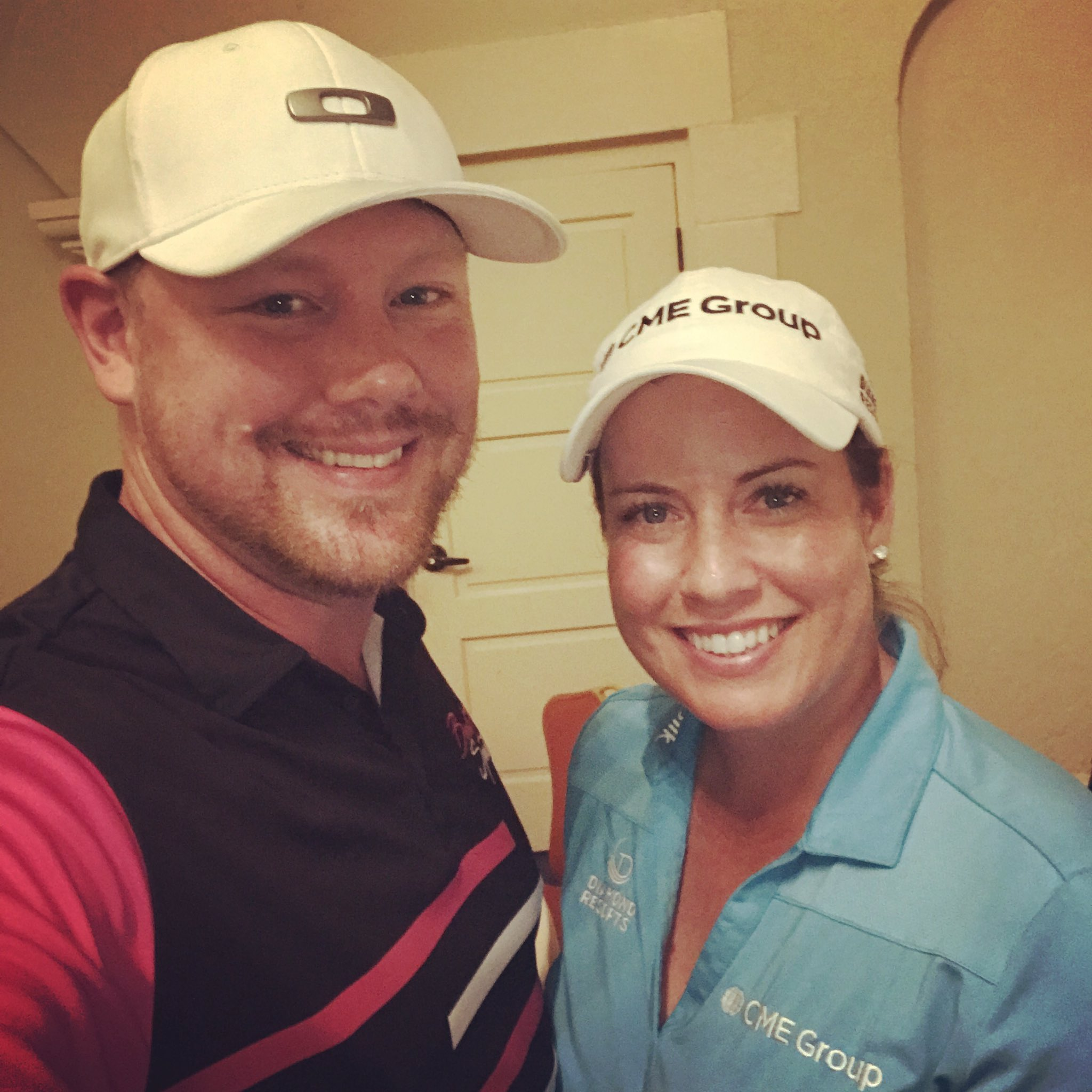 What a fun day with my bud @Brittany1golf at her celebrity event to benefit @TheFirstTee of St. Pete #bullzisports #forthekids #friends https://t.co/cpUHejVLnm