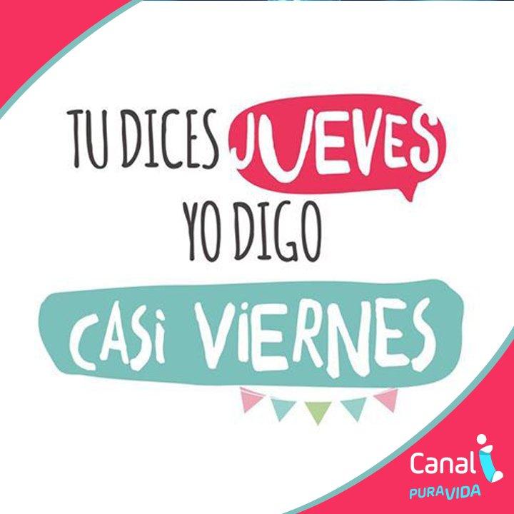 Canal I On Twitter Feliz Jueves Casi Viernes
