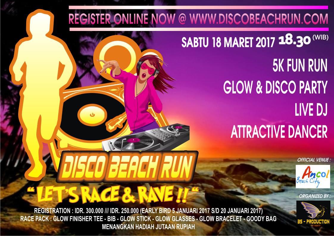 Disco Beach Run 2017