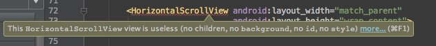 I've never empathized with any fictional character as much as I do with this HorizontalScrollView...