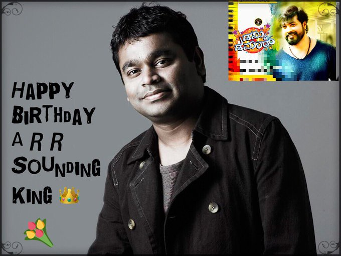 Wish You Happy Birthday To Our Sounding King A R Rahman ji.