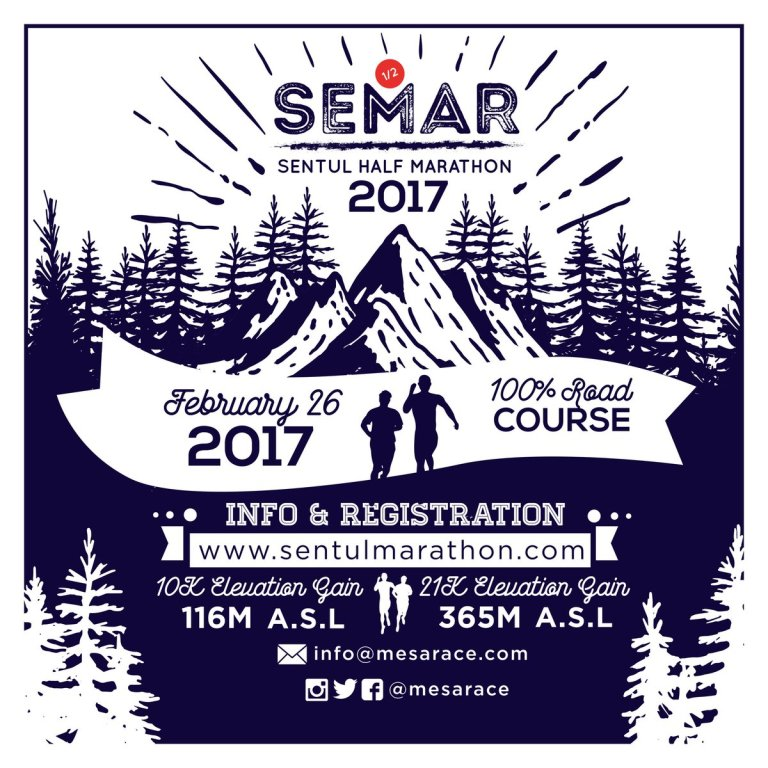 Sentul Half Marathon 2017