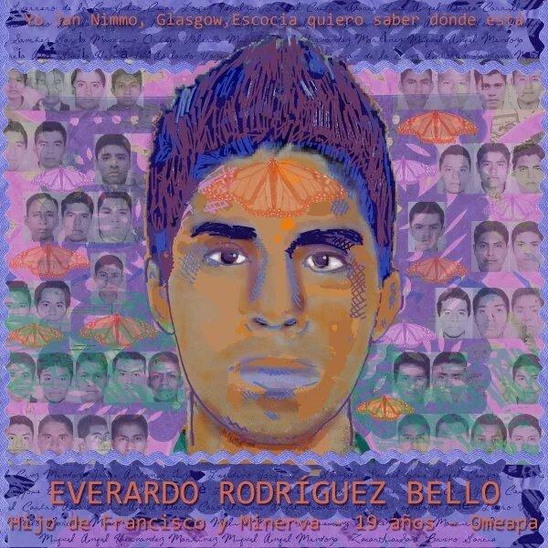 Hoy,en su cumpleaños,hacemos PaseDeLista1al43 en honor de #EverardoRodriguezBello y de su familia q lucha por él! <br>http://pic.twitter.com/8Cv4NFp1fV