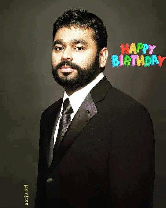 Happy Birthday. Music maestro A R . Rahman