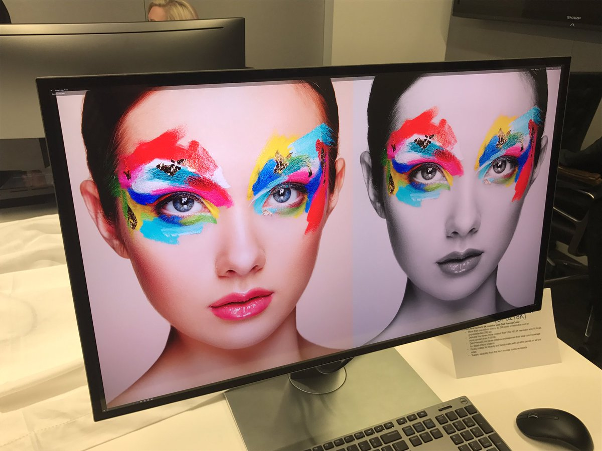 Dell's 8K Monitor Offers Mind-Blowing Detail https://t.co/ZtdRadieaB Like this... via @MikeAndronico #CES2017 https://t.co/fpYslyMzod
