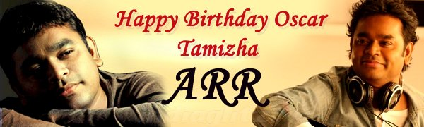 Happy Birthday Oscar Tamizha