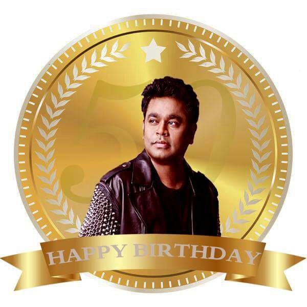 Happy Birthday Mr.A.R.Rahman sir