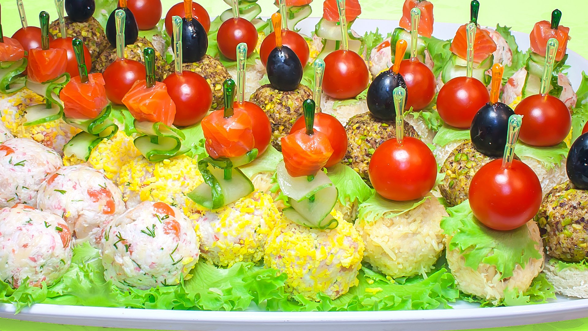 рецепты оригинальных салатов и закусок с фото можем