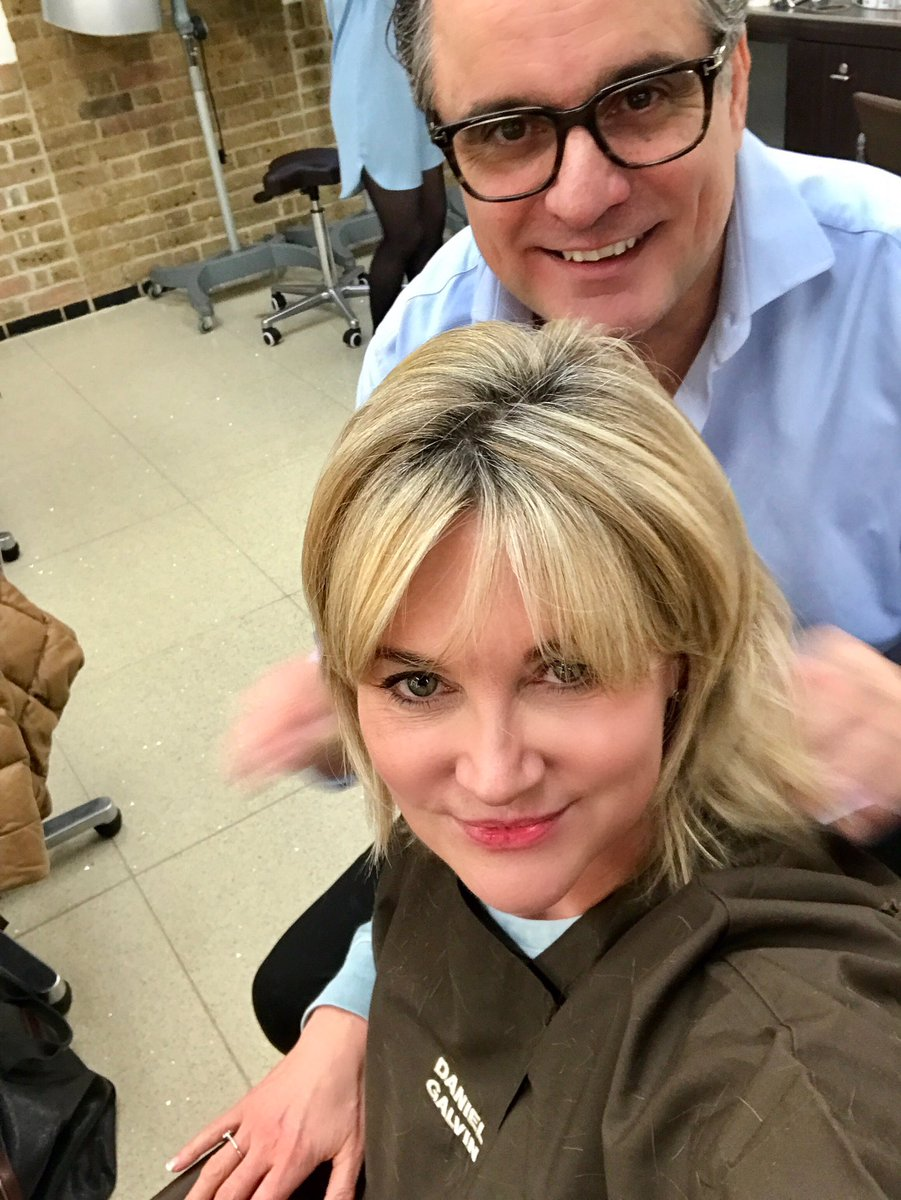 Anthea Turner On Twitter First Haircut Of 2017 Thank You