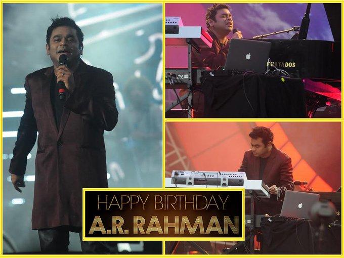 Wishing a very Happy Birthday to Bollywood\s music Legend A. R. Rahman.