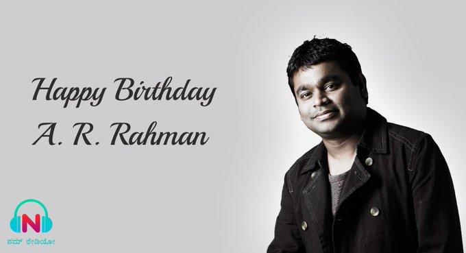Happy Birthday A. R. Rahman !