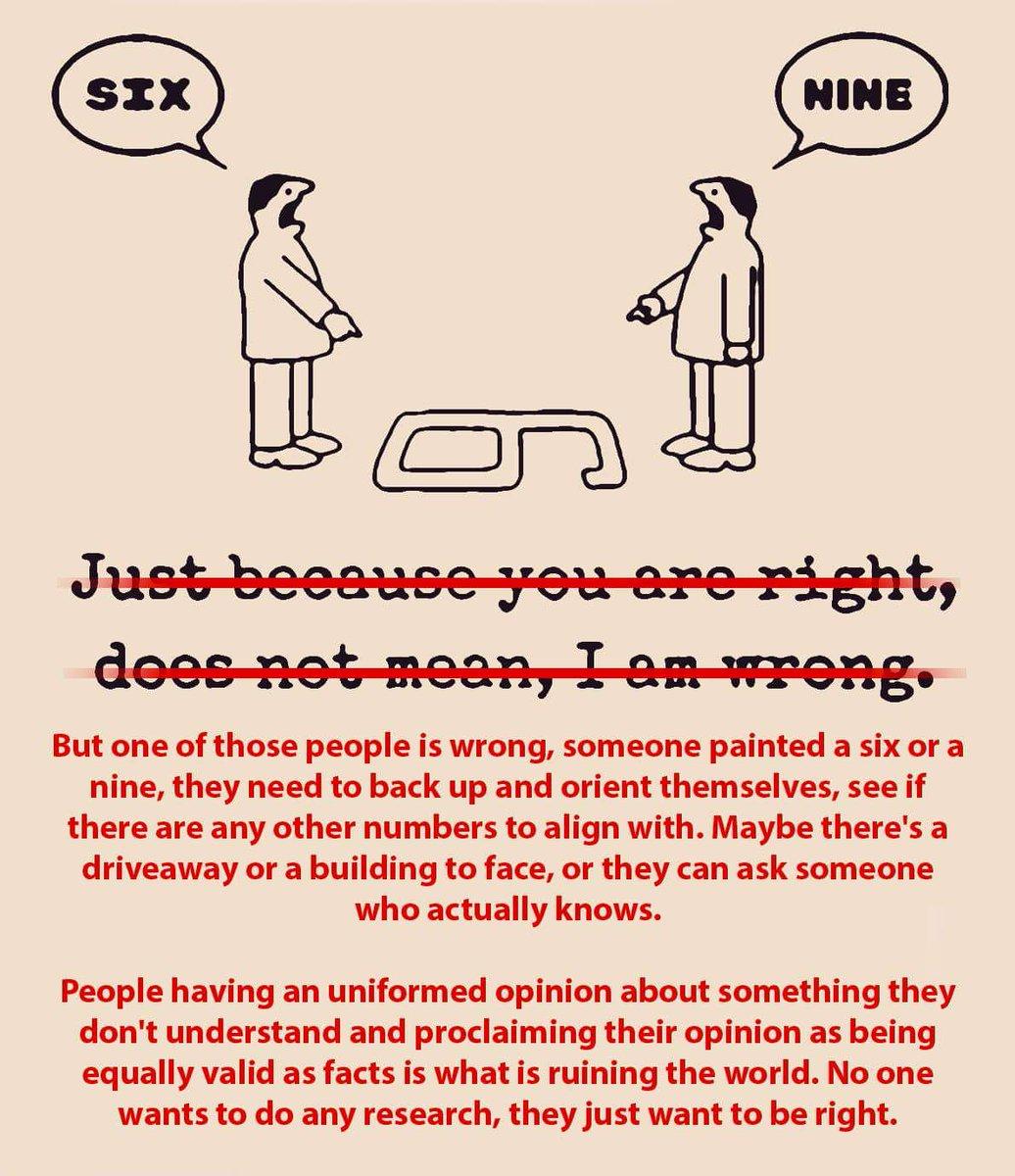 Setuju. Perspective mah urusan lo. Tapi Pasti ada yg salah. https://t.co/98JIDQHAwO
